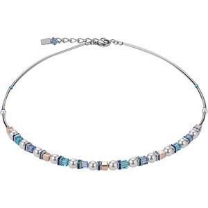 Coeur de Lion - Halsketten - Swarovski Kristalle & Perlen Collier Blau
