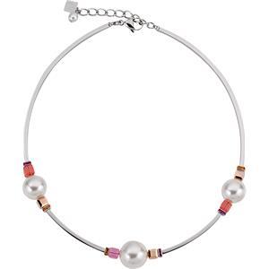 Coeur de Lion - Halsketten - Swarovski Kristalle & Perlen Collier Pink