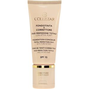 Collistar - Cera - Foundation + Concealer Total Perfection Duo