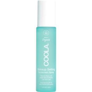 Coola - Cura del viso - Make-up Setting Spray SPF 30 Face Green Tea / Aloe
