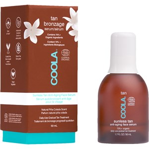 Coola - Gesichtspflege - Sunless Tan Anti-Aging Face Serum