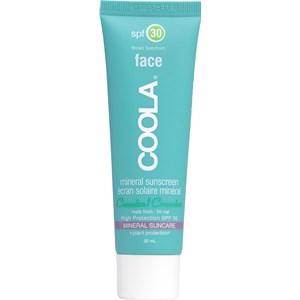 Coola - Gesichtspflege - Sunscreen Matte Finish SPF 30 Face Cucumber Mineral