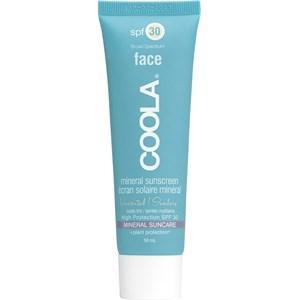 Coola - Gesichtspflege - Sunscreen Matte Tint SPF 30 Face Unscented Mineral
