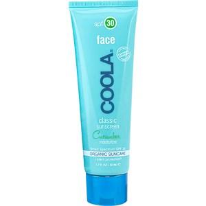 Coola - Gesichtspflege - Sunscreen Moisturizer SPF 30 Face Cucumber Classic
