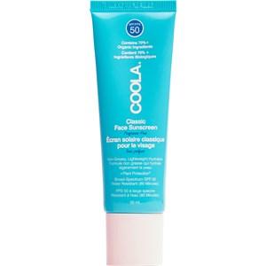 Coola - Sonnenpflege - Fragrance-Free Classic Face Sunscreen SPF 50