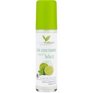 Cosnature - Deodorants - Deo-Zerstäuber Limette & Minze