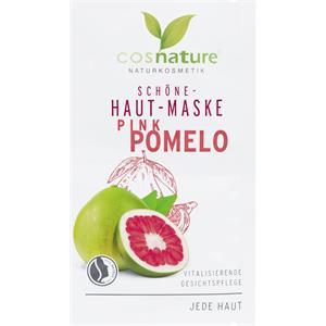 Cosnature - Gesichtspflege - Schöne-Haut-Maske Pink Pomelo