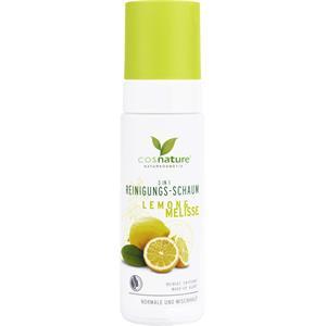 Cosnature - Gesichtsreinigung - 3 in 1 Reinigungsschaum Lemon & Melisse