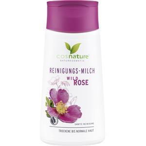Cosnature - Gesichtsreinigung - Reinigungsmilch Wildrose
