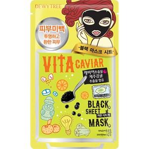 DEWYTREE - Gesichtsmasken - Vita Caviar Blackmask