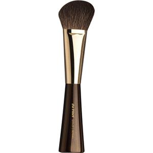 Da Vinci - Brochas para polvos/colorete - Brocha para colorete/sombras de pelo de cabra montesa marrón oscuro extrafino