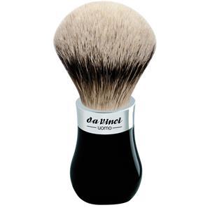 Da Vinci - Brochas de afeitar - Pelo de tejón puntas plateadas, mango abombado