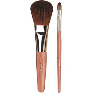 da-vinci-basic-set-pinsel-set-puderpinsel-braune-bergziegenhaare-concealer-lidschattenpinsel-feine-kunstfasern-1-stk-