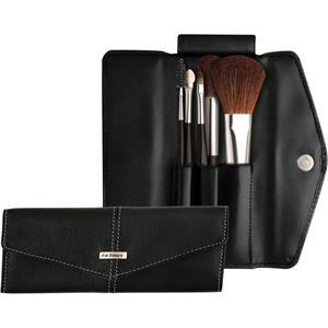 Da Vinci Basic Set Schminkpinselset Rougepinsel rund + Puderpinsel oval + Lippenpinsel + Eyelash brush + Applikator 1 Stk.