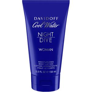 Image of Davidoff Damendüfte Cool Water Night Dive Woman Body Lotion 150 ml