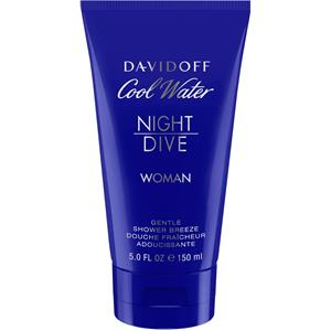 Image of Davidoff Damendüfte Cool Water Night Dive Woman Shower Gel 150 ml