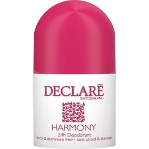 Declaré Pflege Body Care Harmony 24h Deodorant Roll-On alkohol- und aluminiumfrei 50 ml