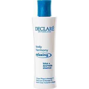 Declaré - Body Harmony Relaxing - Relaxing Körper Pflege & Massage Öl
