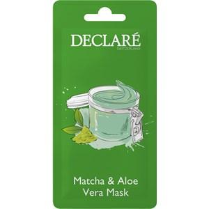 Declaré - Masken - Matcha & Aloe Vera Mask
