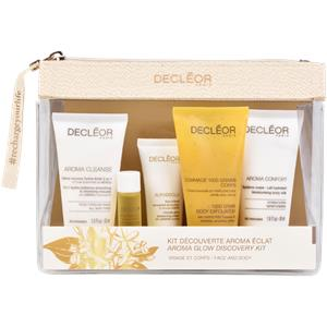 Image of Decléor Gesichtspflege Aroma Cleanse Aroma Glow Discovery Set Mousse Hydra-Eclat 50 ml + Aurabsolu Soin d´Eveil 15 ml + Aromessence Neroli 5 ml + Gommage 1000 Grains Corps 50 ml + Aroma Confort Système Corps Lait Hydratant 50 ml 1 Stk.