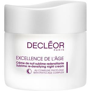 Decléor - Excellence De L'Âge - Crème de Nuit Sublime Redensilfiante