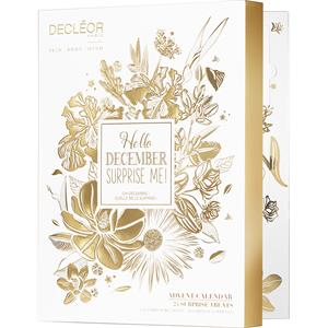 decleor-gesichtspflege-hydra-floral-multi-protection-adventskalender-hydra-floral-24h-hydrating-creme-legere-30-ml-aroma-confort-creme-de-mains-50-m
