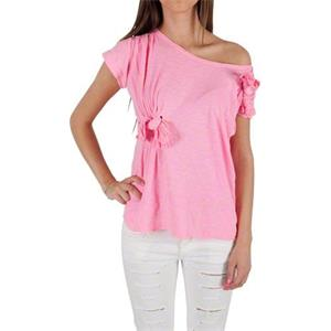 Denny Rose - Tops & Shirts - T-Shirt mit Rosa Schleife