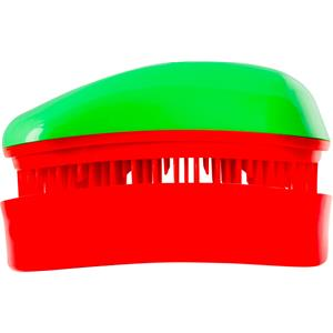 Dessata - Mini Anti-Tangle Brush - Green/Cherry