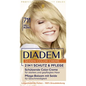 Diadem - Coloration - 711 Hellblond Stufe 3 Seiden-Color-Creme