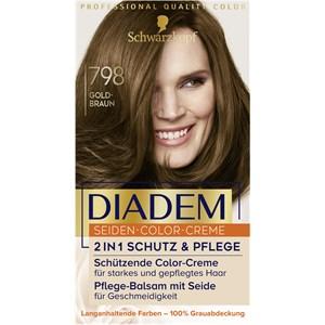 Diadem - Coloration - 798 Goldbraun Stufe 3 Seiden-Color-Creme