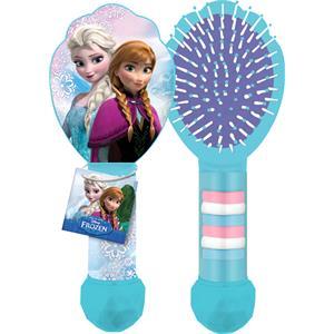 Disney - Die Eiskönigin - Haarbürste mit 6 Haargummies
