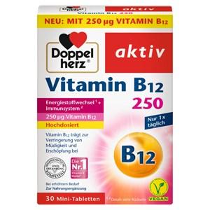 Doppelherz - Energie & Leistungsfähigkeit - Vitamin B12 Mini-Tabletten