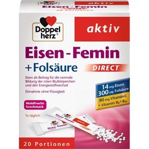 Doppelherz - Produkte für Frauen - Eisen-Femin DIRECT Vitamin C + B6 + B12 + Folsäure