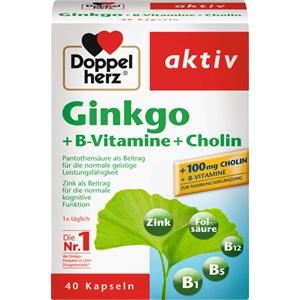Doppelherz - Energie & Leistungsfähigkeit - Ginkgo + B-Vitamine + Cholin Kapseln