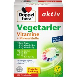 Doppelherz - Energie & Leistungsfähigkeit - Vegetarier Vitamine + Mineralstoffe Tabletten