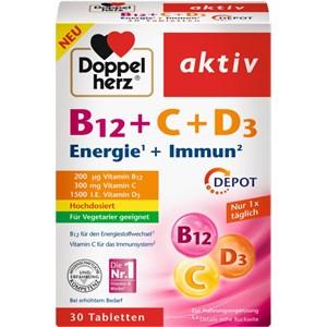 Doppelherz - Mineralstoffe & Vitamine - Vitamin B12 + C + D3