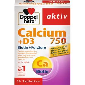 Doppelherz - Haut, Haare, Nägel - Calcium + D3 + Biotin + Folsäure Tabletten