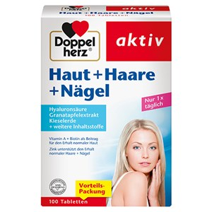 Doppelherz - Haut, Haare, Nägel - Haut + Haare + Nägel