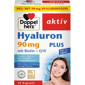 Doppelherz - Skin, Hair, Nails - Hyaluron 90 mg Plus mit Biotin + Q10