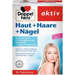 Doppelherz - Haut, Haare, Nägel - Hyaluron + Kieselerde + Zink Haut + Haare + Nägel