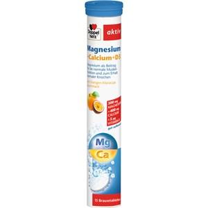 Doppelherz - Mineralstoffe & Vitamine - Magnesium + Calcium + D3 Brausetabletten