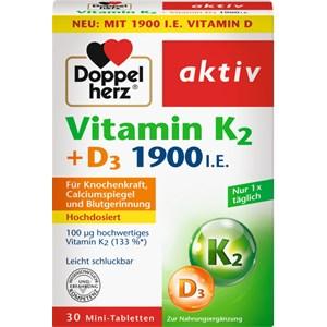 Doppelherz - Immunsystem & Zellschutz - Vitamin K2 + D3 Tabletten