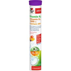 Doppelherz - Immunsystem & Zellschutz - Vitamin K2 + Vitamin D3 + Calcium Brausetabletten