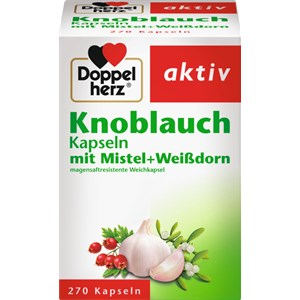 Doppelherz - Magen & Verdauung - Knoblauch Kapseln