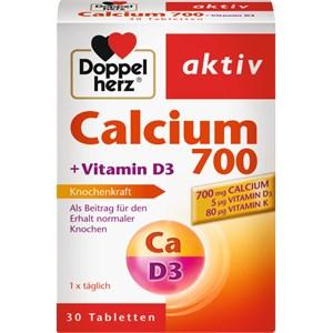 Doppelherz - Mineralstoffe & Vitamine - Calcium 700 + Vitamin D3 Tabletten