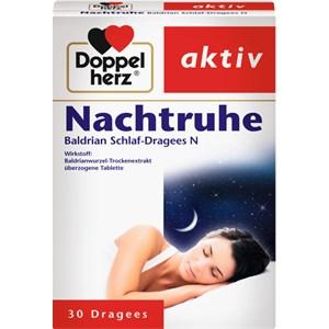 Doppelherz - Nerven & Beruhigung - Nachtruhe Baldrian Schlaf-Dragees N