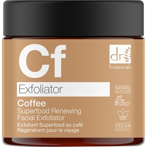 Dr Botanicals - Gesichtspflege - Coffee Superfood Renewing Facial Exfoliator