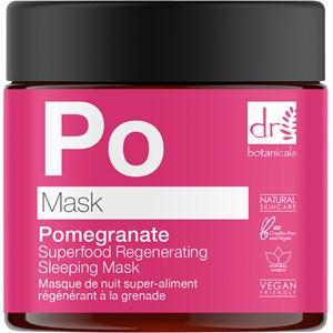 Dr Botanicals - Gesichtspflege - Pomegranate Superfood Regenerating Sleeping Mask
