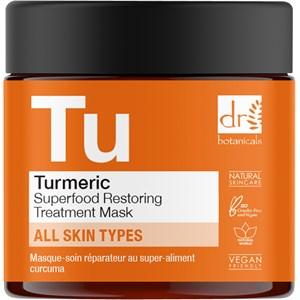 Dr Botanicals - Gesichtspflege - Turmeric Superfood Restoring Treatment Mask