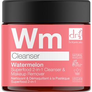 Dr Botanicals - Facial care - Watermelon Superfood 2-in-1 Cleanser & Makeup Remover